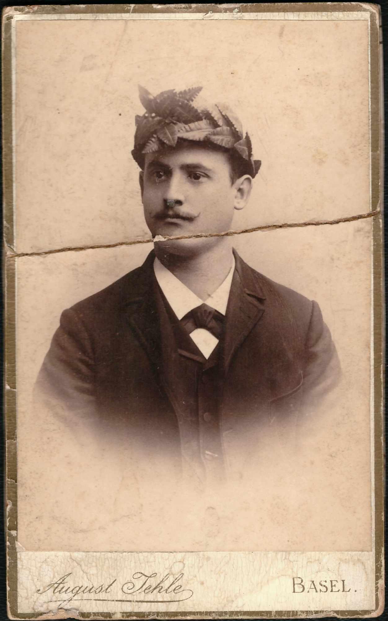 Bild: vermutlich Arnold Baumann, Vater von Maria Gürtler-Baumann