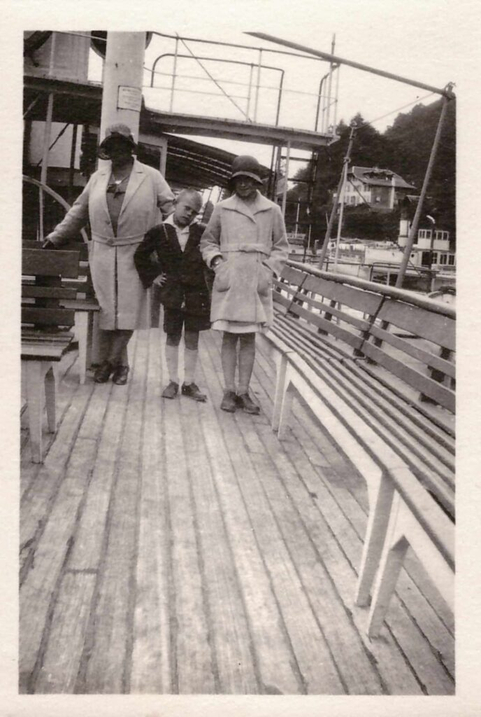 Bild: Maria Gürtler-Baumann, Gertrud und Kurt