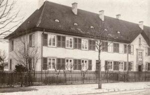 Damals: Fotokarte (vermutlich Egliseestrasse 30) aus dem Jahr 1929