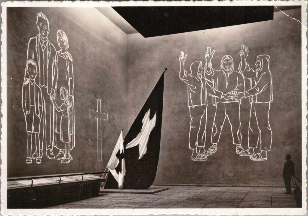 Bild: Postkarte Schweizerische Landesausstellung von 1939 in Zürich