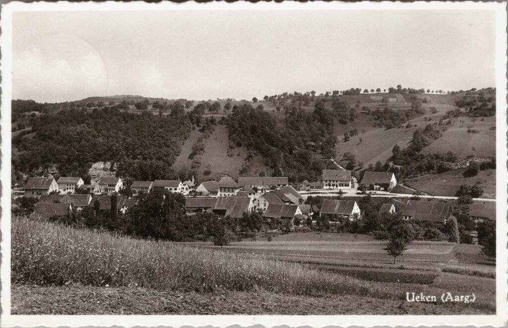 Bild: Postkarte aus Ueken (Aargau)