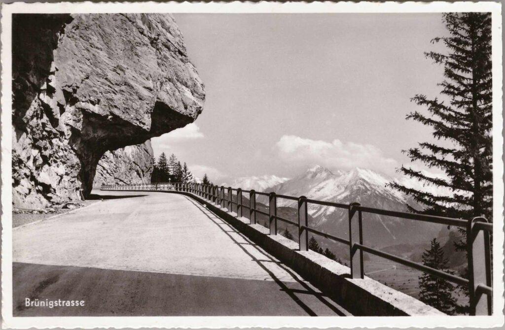 Bild: Postkarte Brünigstrasse, 1939