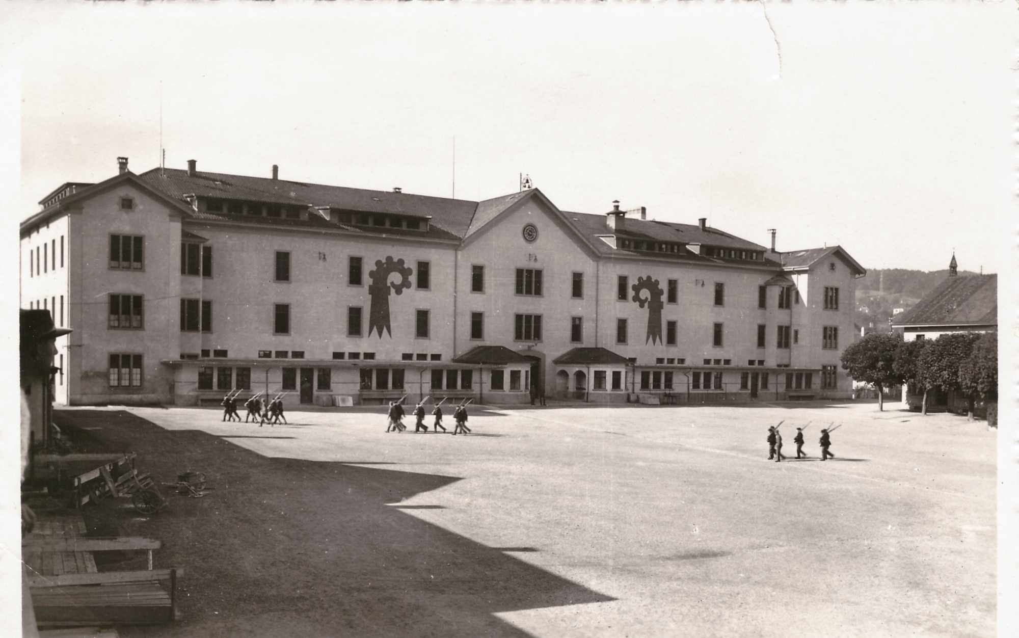 Bild: Kaserne Liestal 3. Oktober 1939