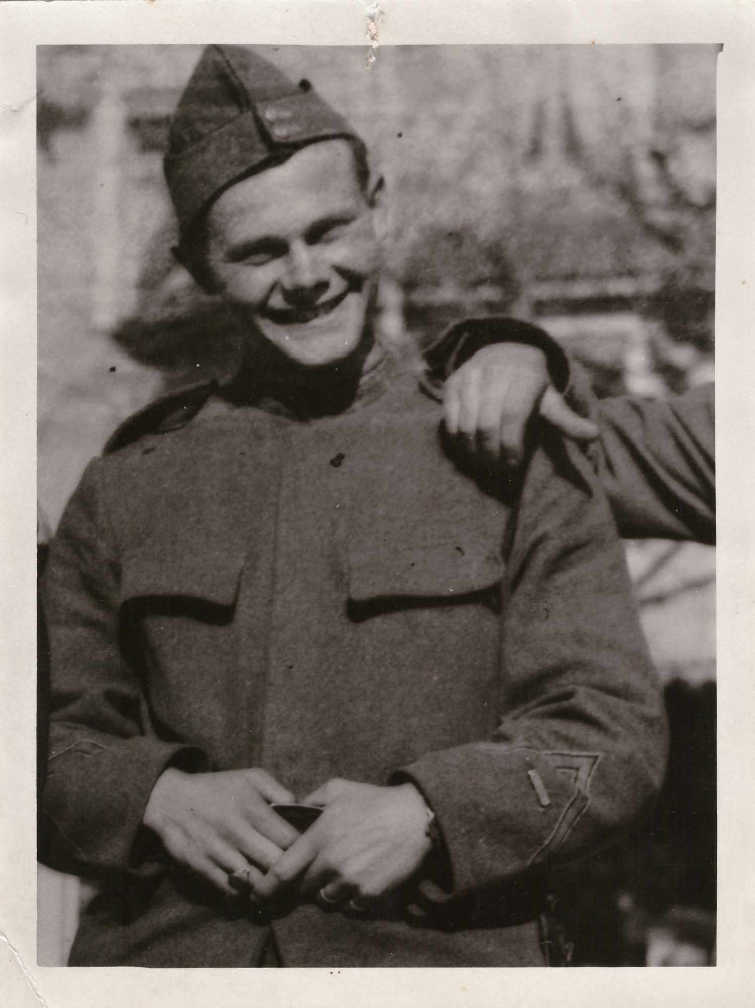 Bild: Kurt Gürtler als Soldat