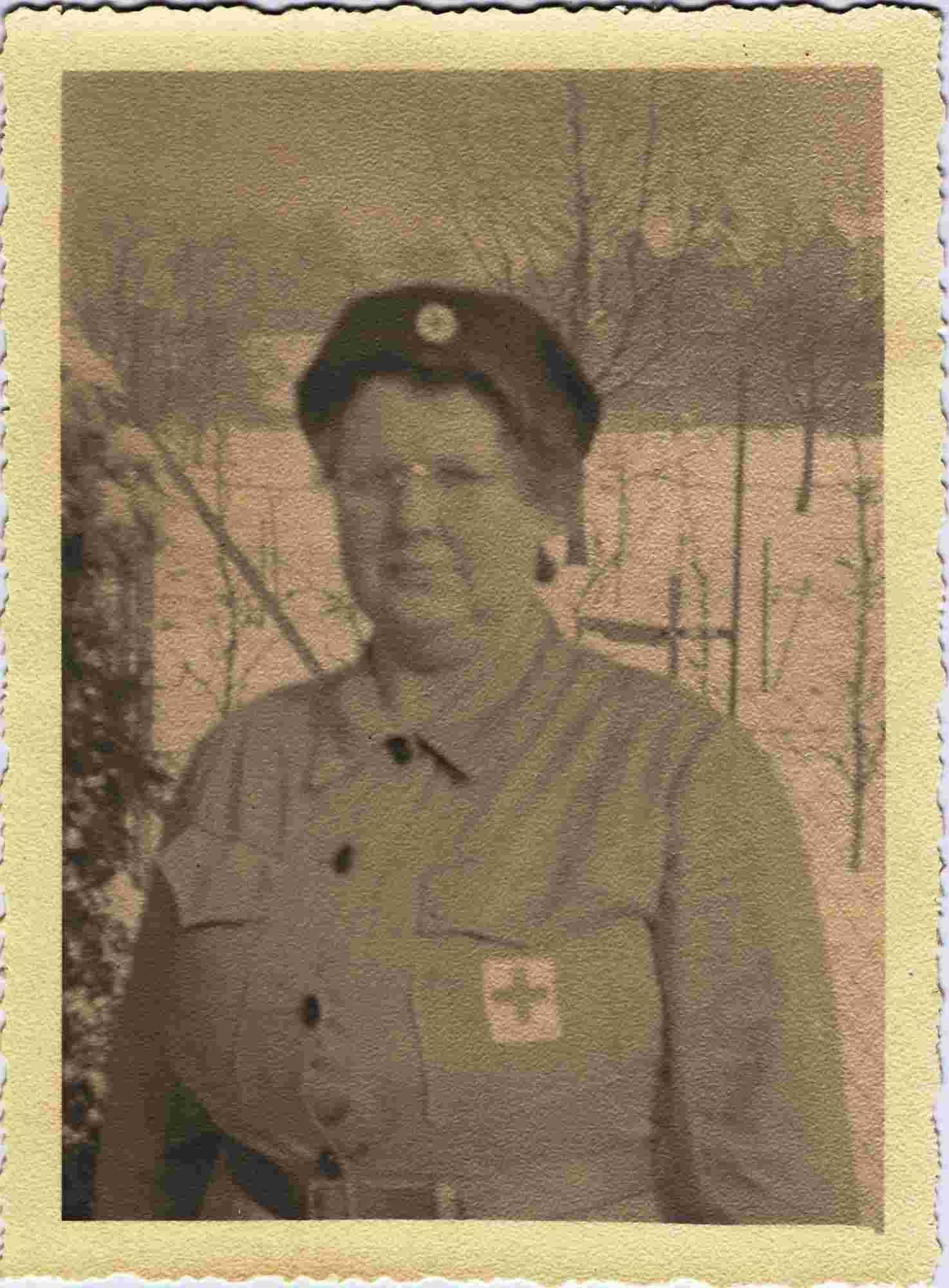 Bild: Maria Gürtler-Baumann im Frauenhilfsdienst