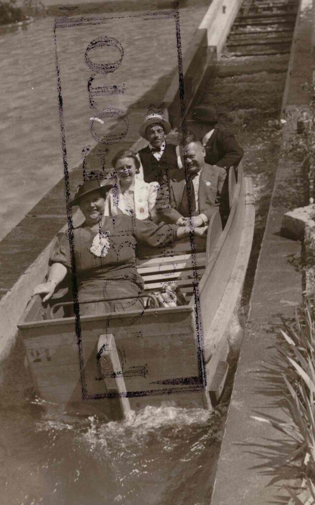 Bild: Familienausflug 1939 an die Landesausstellung (Landi)