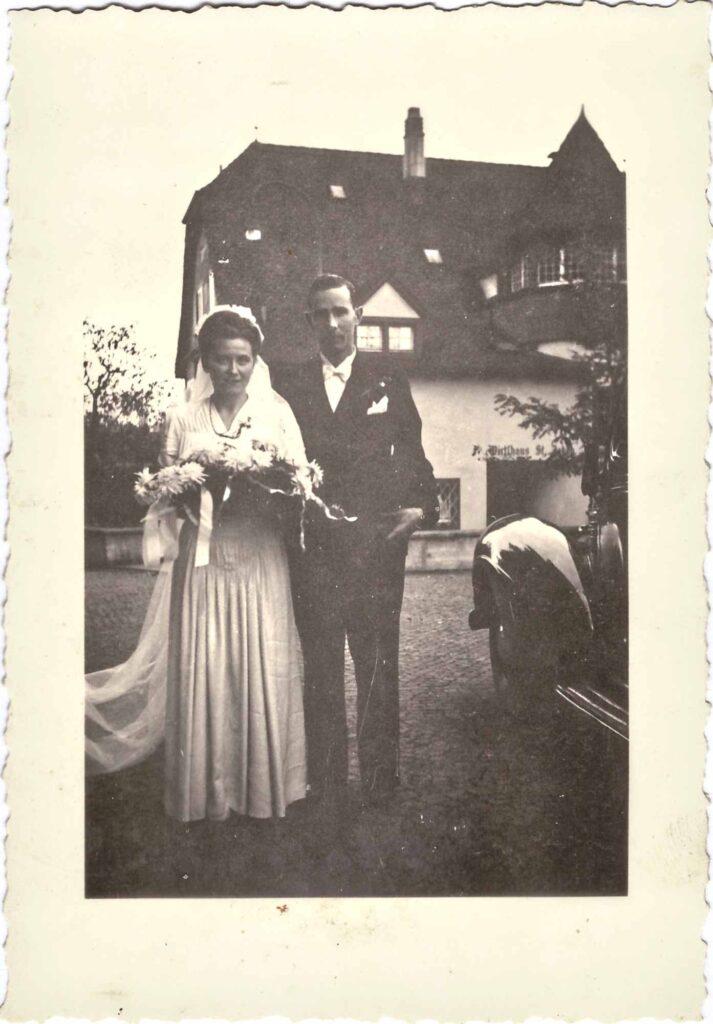 Bild: Ehepaar Ernst und Gertrud Ulrich-Gürtler