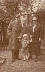 Bild: unbekannte Familie, Datum unbekannt