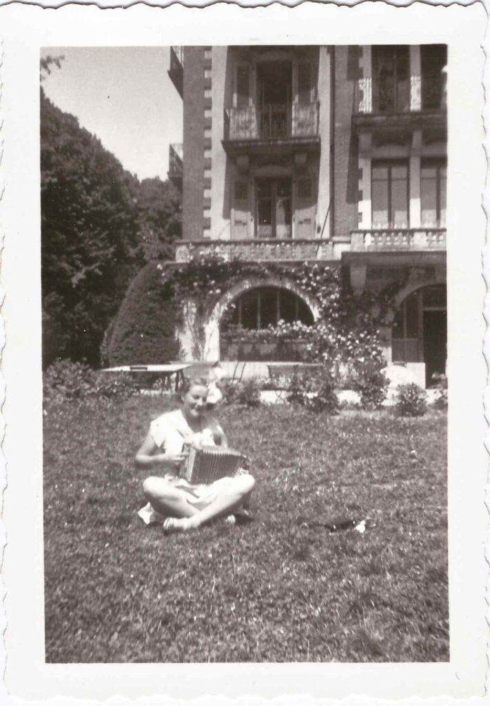 Bild: Mädchenpensionat La Romande in Vevey (1935)