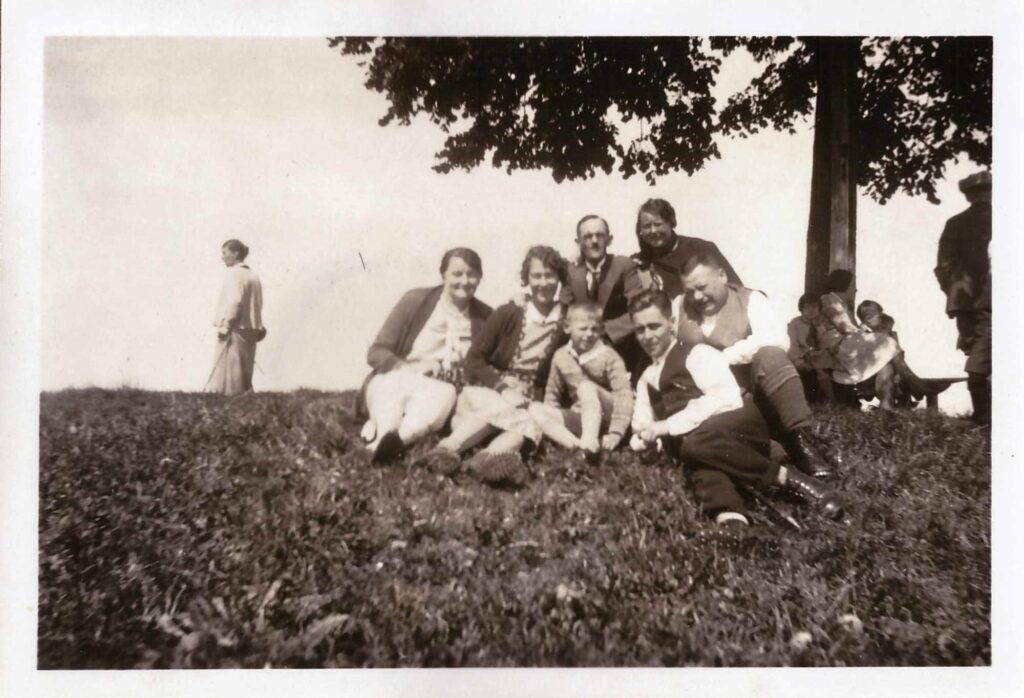 Bild: Gruppenbild u.a. mit Familie Gürtler-Baumann