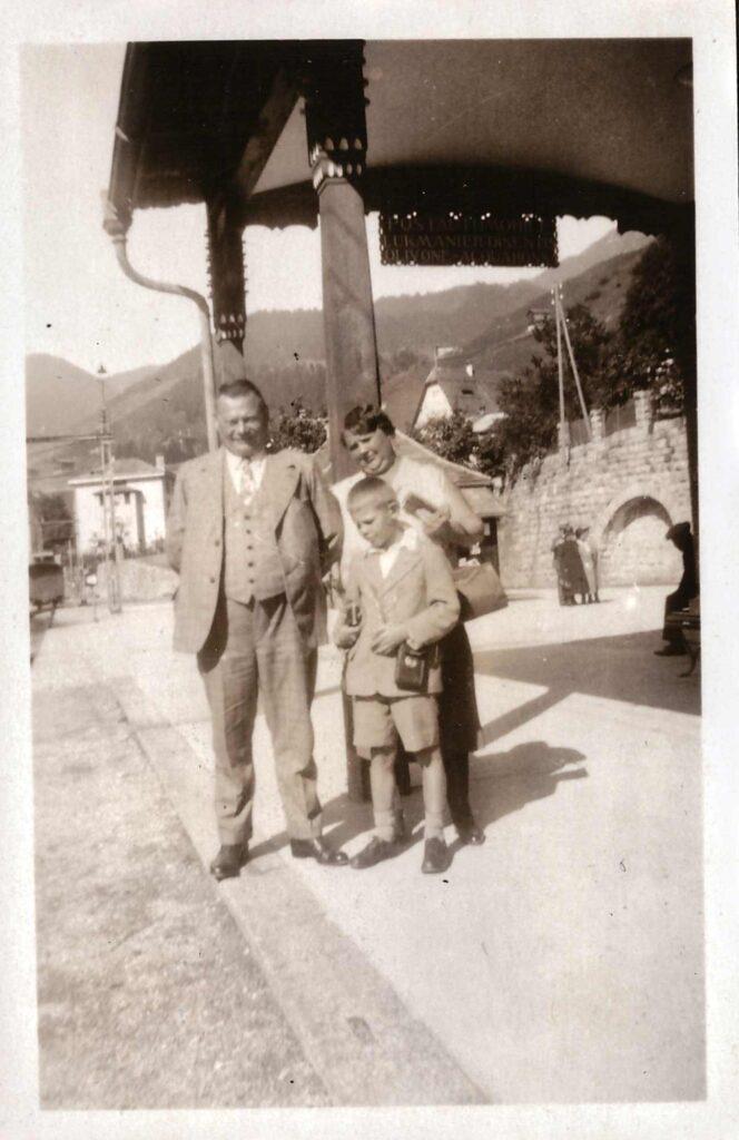 Bild: Albert und Maria Gürtler mit Kurt
