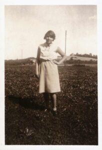 Bild: unbekannte junge Frau