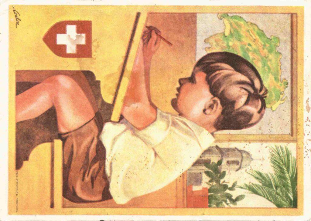 Bild: Postkarte aus dem Jahr 1930