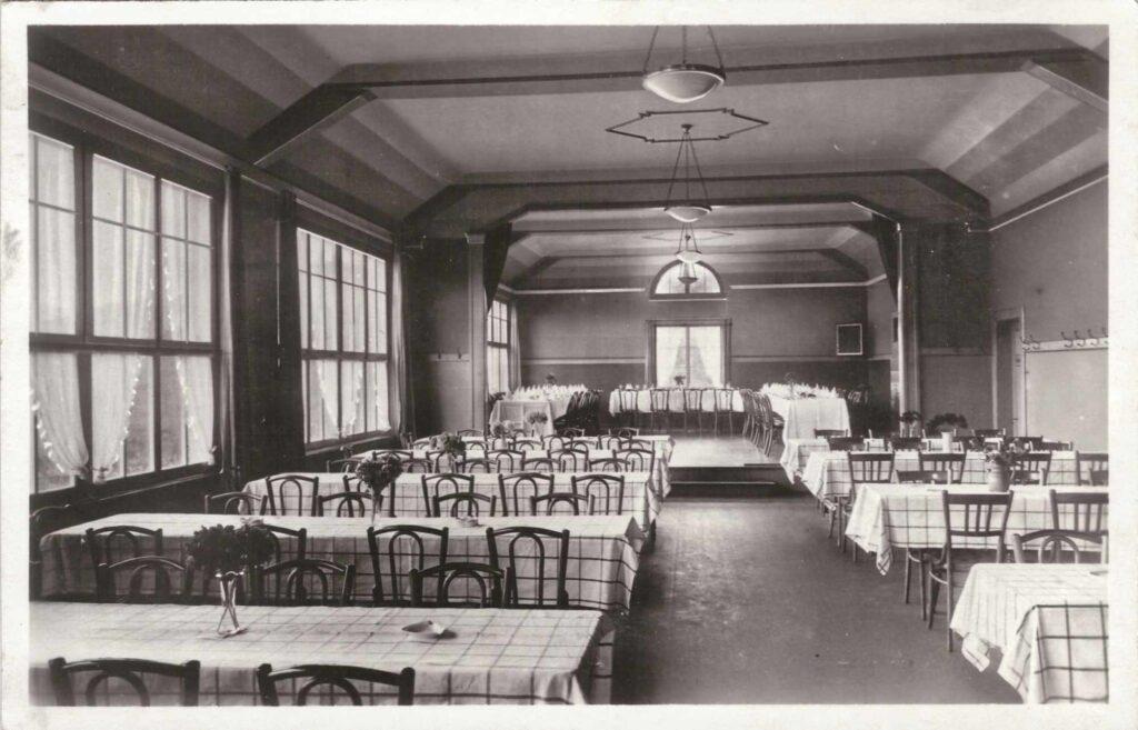 Bild: Postkarte Restaurant Hofmatt Gelterkinden, 1930