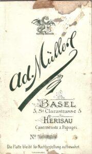 Bild: Logo Photohaus Ad. Müller Basel
