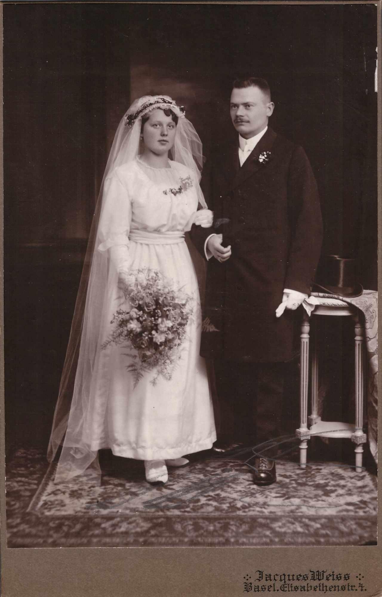 Bild: Studiofoto Hochzeit Maria und Albert Gürtler-Baumann