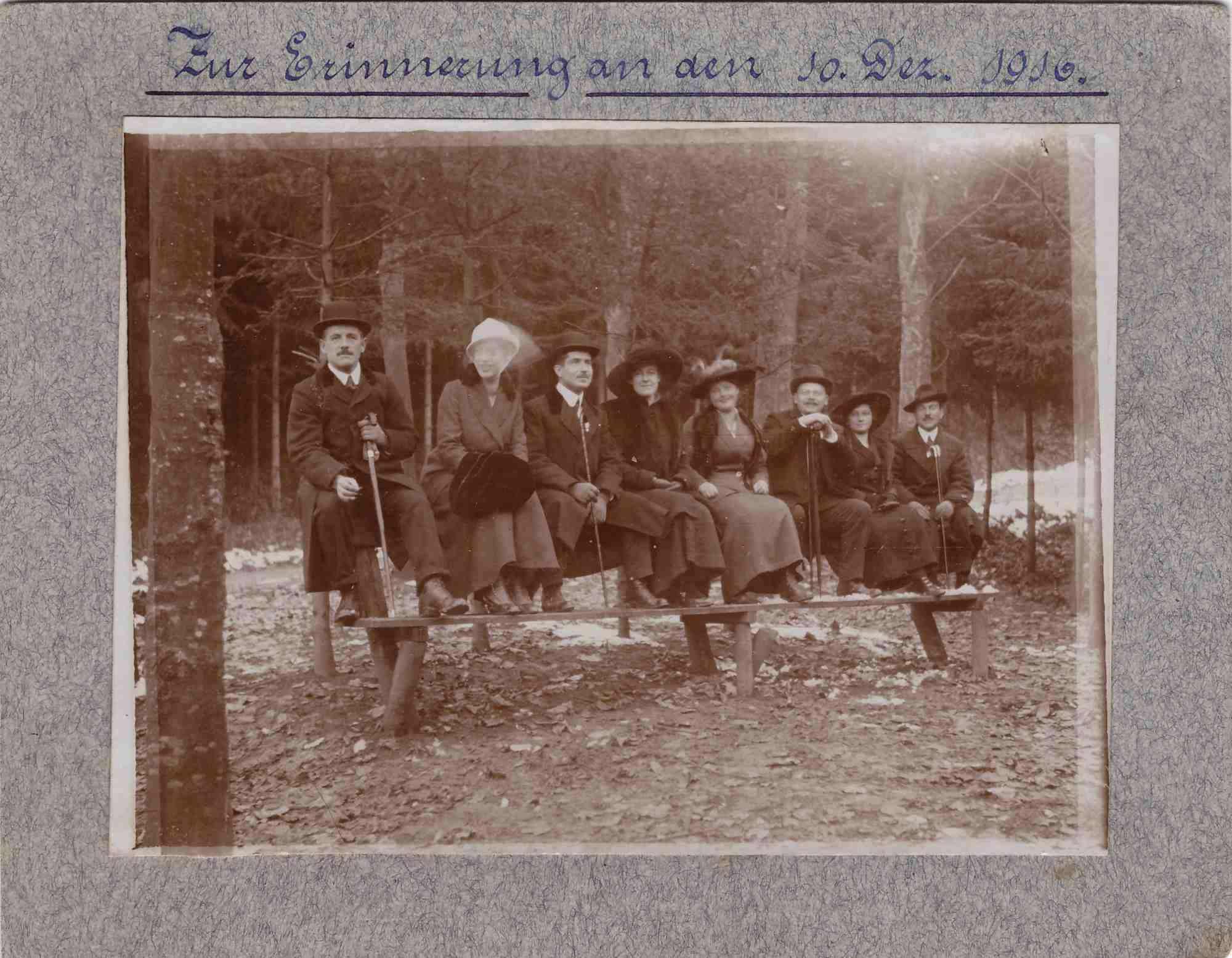 BilD: Gruppenbild aus dem Jahr 1916