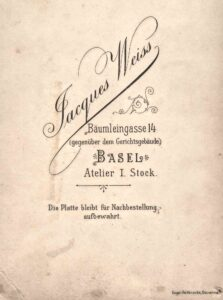 Bild: Logo Photohaus Jacques Weiss, Basel