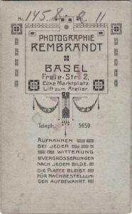 Bild: Logo Photohaus Rembrandt Basel