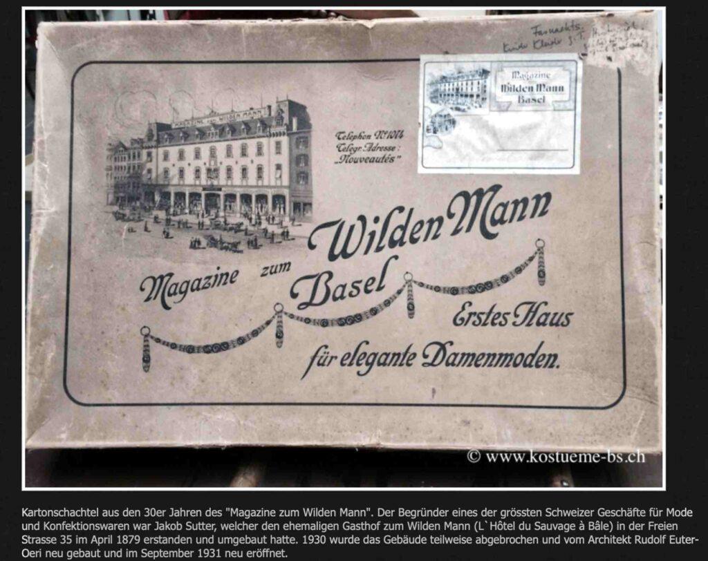 Bild: Screenshot Website kostueme-bs.ch
