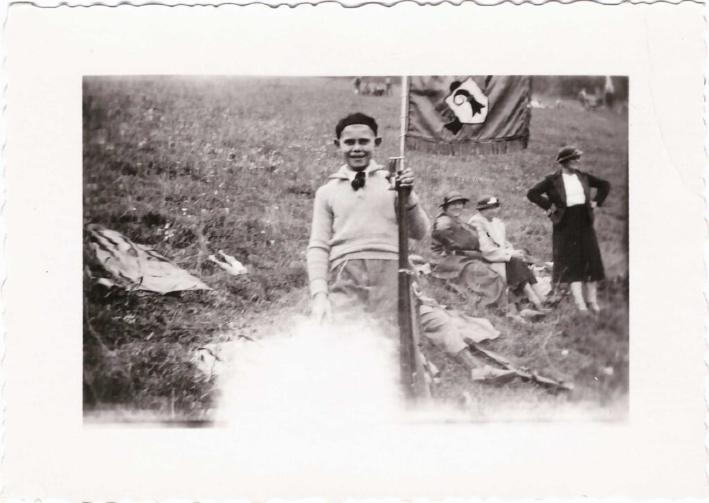 Schützengesellschaft Liestal Kurt Gürtler bei einem Sportschützenanlass