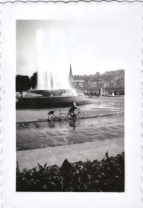 Damals: Wagenbachbrunnen Luzern, Jahr unbekannt